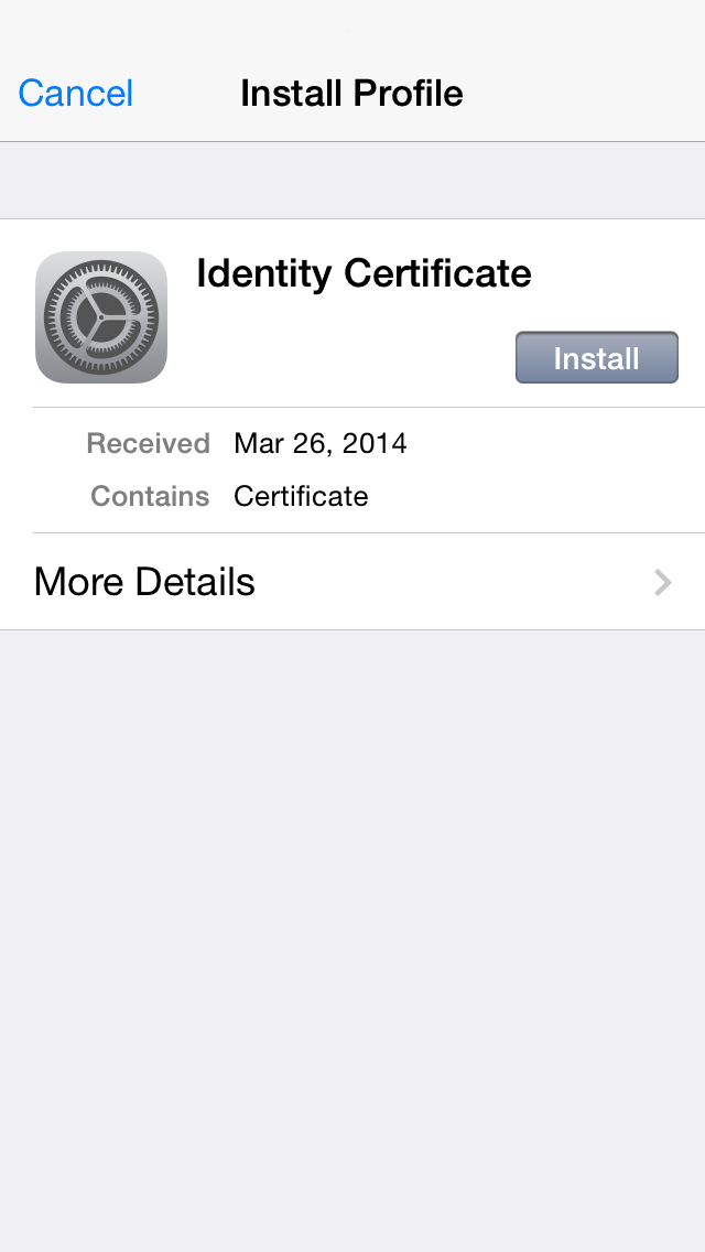 How To Deploy Securly Ssl Certificate To Ios Support
