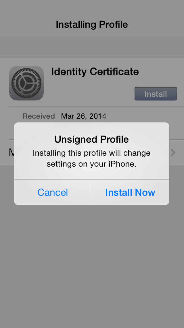 How to deploy Securly SSL certificate to iOS? – Support