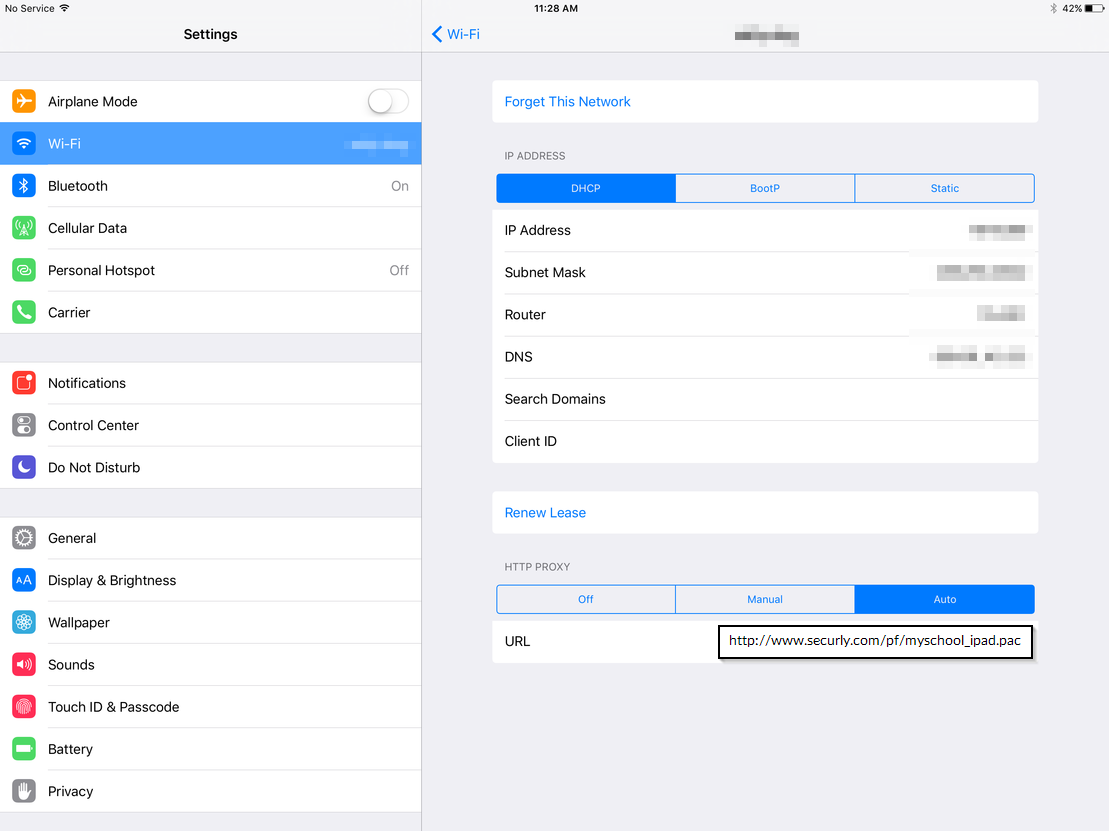 How to configure Securly filtering on iPads? – Support